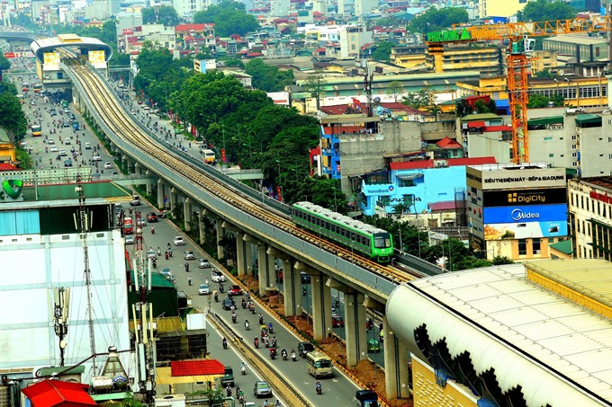 Hà Nộis Cát Linh-Hà Đông metros first commercial runs set for April: transport ministry