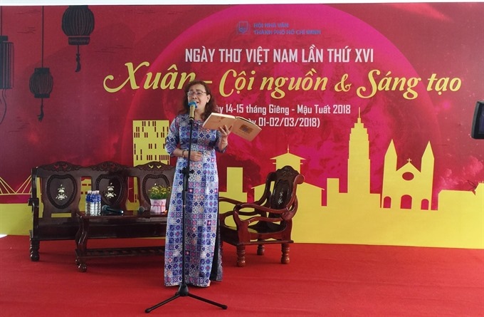 HCM City to celebrate National Poetry Day
