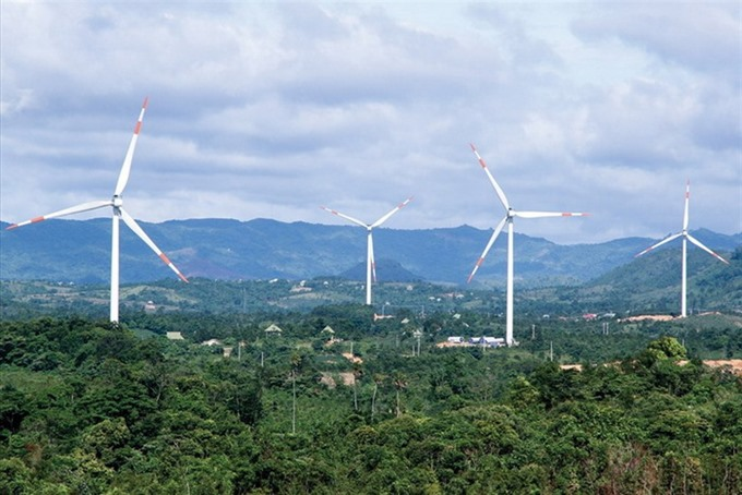 VNĐ5.2 trillion to be invested in wind power in Quảng Trị Province