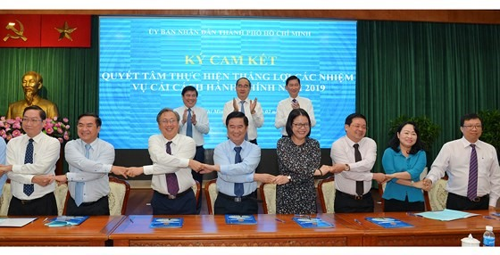 HCM City promises more administrative reforms