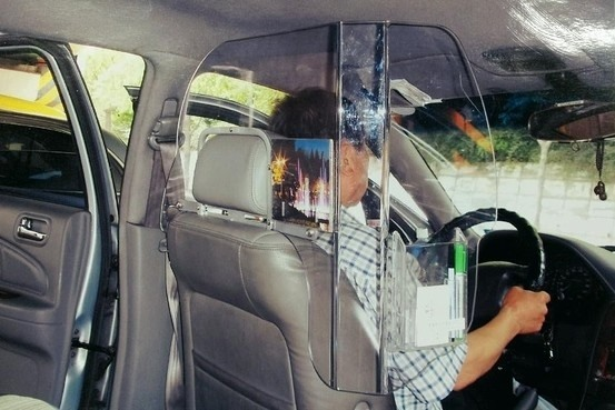 Plastic protective screen in taxi is legal: the Vietnam Register