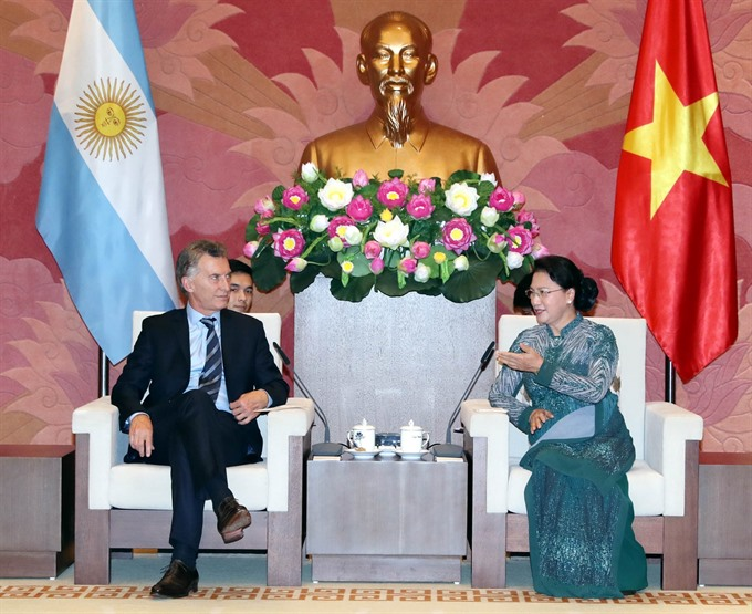 VN wants to bolster strategic partnership with Argentina: top legislator