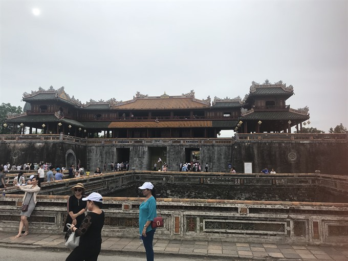 Thừa Thiên-Huế Province rebuild palace in Imperial Citadel