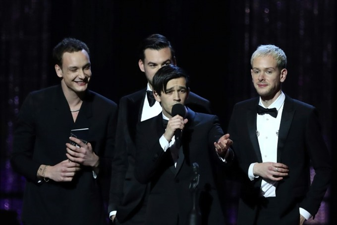 Pop rockers The 1975 win big at Brits