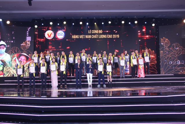More than 540 firms win Vietnamese High-Quality Goods award