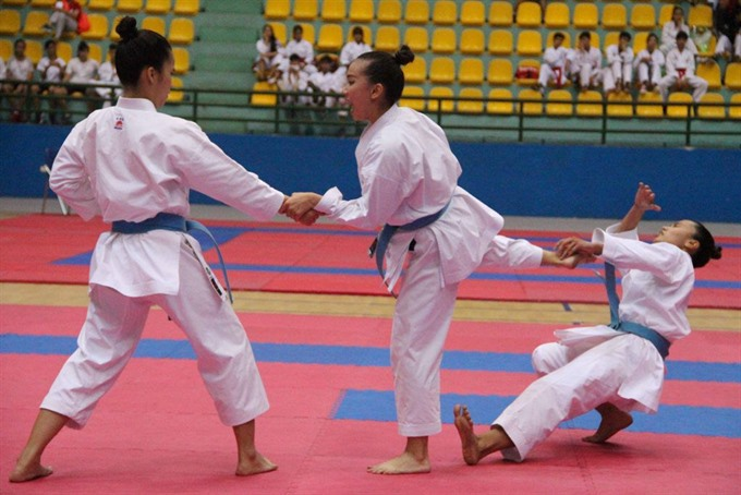 National youth karate champs to begin in Lâm Đồng