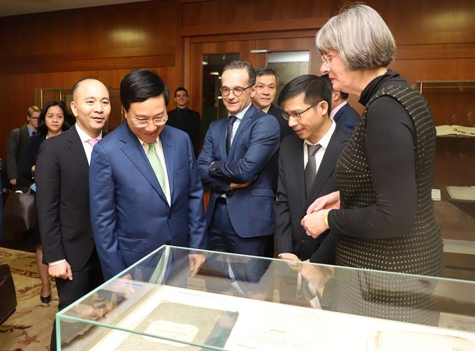 German FM hails visit by Deputy Prime Minister