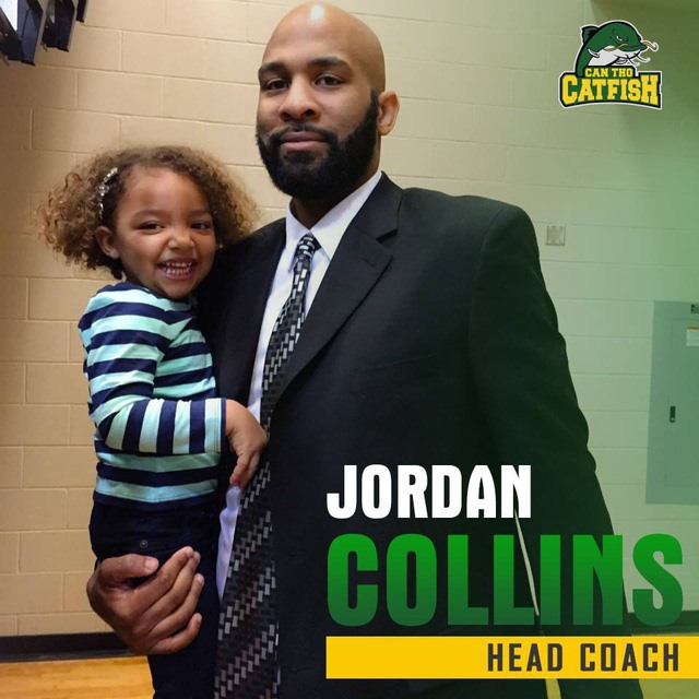 Cantho Catfish name Jordan Collins head coach