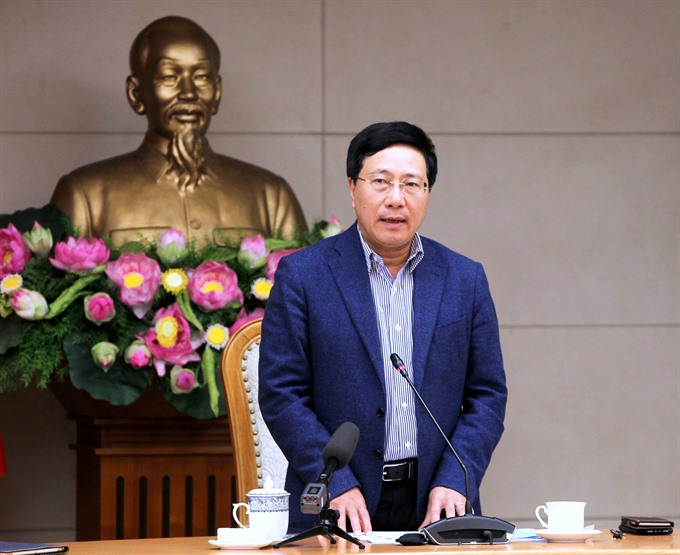 Deputy PM reviews preparations for DPRK-USA summit