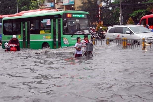HCM City revives 431m flood prevention project