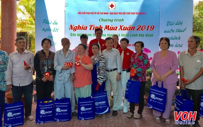 HCM City Red Cross unit targets supporting 10000 organisations individuals