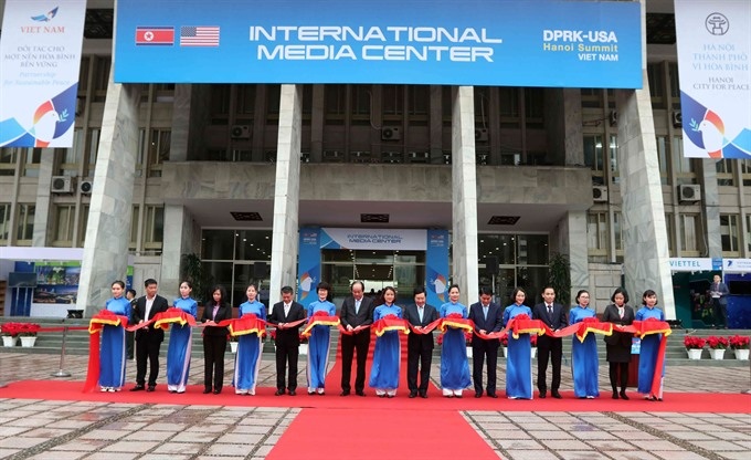 Intl media centre for 2nd DPRK-USA Summit inaugurated