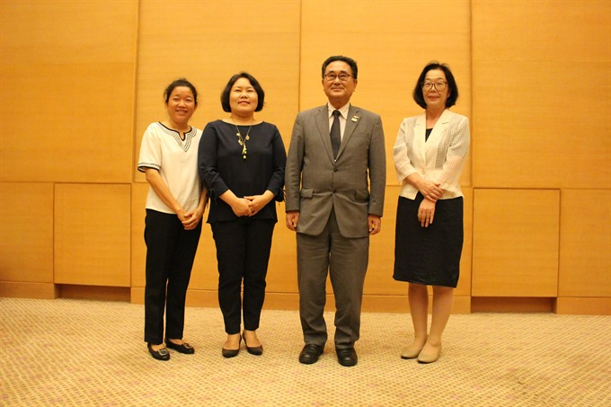 Japan provides aid to organic agriculture teaching projects