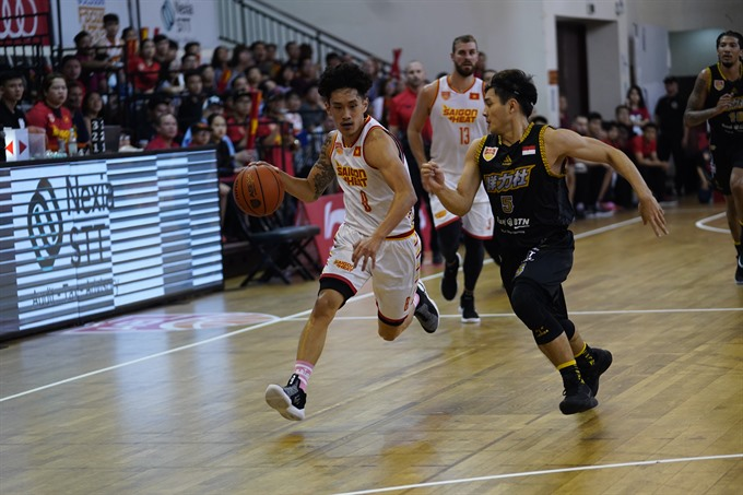 Saigon Heat lost to CLS Knights Indonesia at ABL