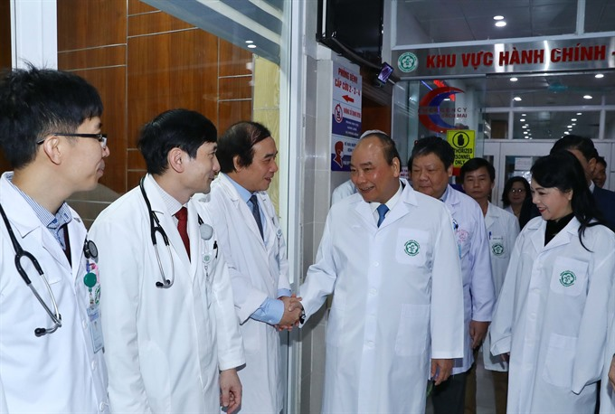 PM celebrates contribution of healthcare sector