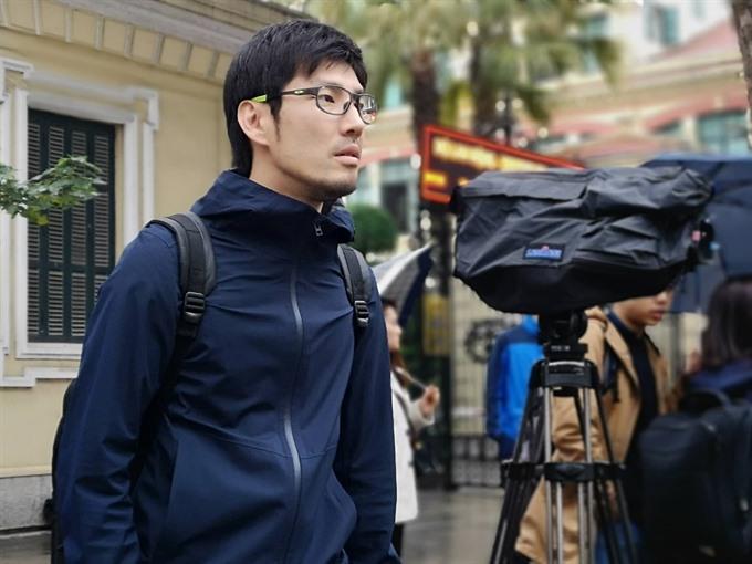 International journalists await DPRK Chairman
