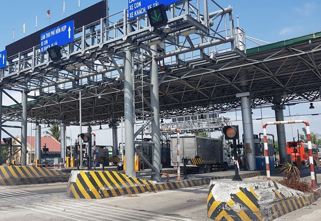 Cai Lậy BOT Toll Station to re-open in March
