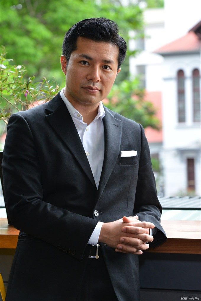 Japanese director continues to make films in VN