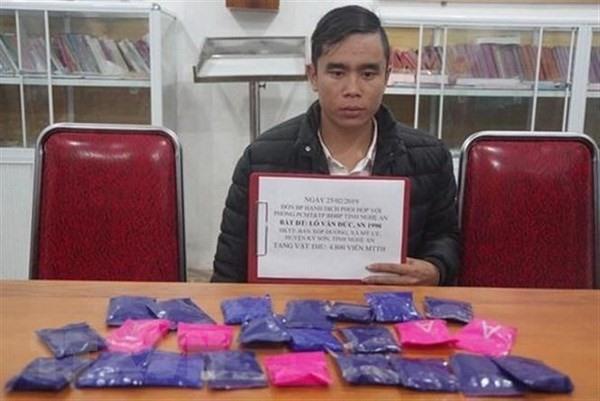 Nghệ An border force arrest heroin trafficker