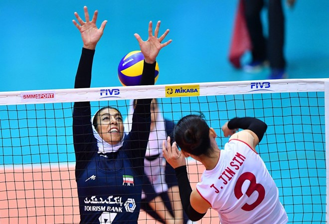 North Korea beat Shanghai at intl volleyball event