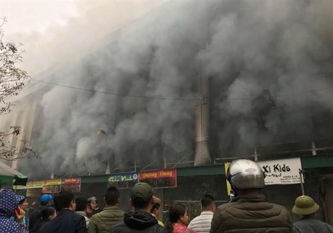 Bắc Ninh goes up in smoke