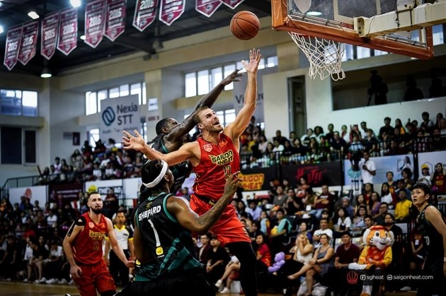 Saigon Heat bid farewell to Murphy Burnatowski