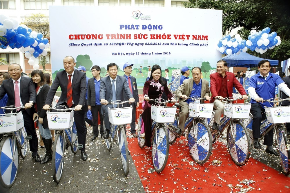 PM Phúc launches the Việt Nam Health Programme