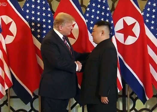 Trump tells Kim they have made progress