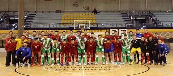 Việt Nam tie Real Betis 2-2 futsal friendly
