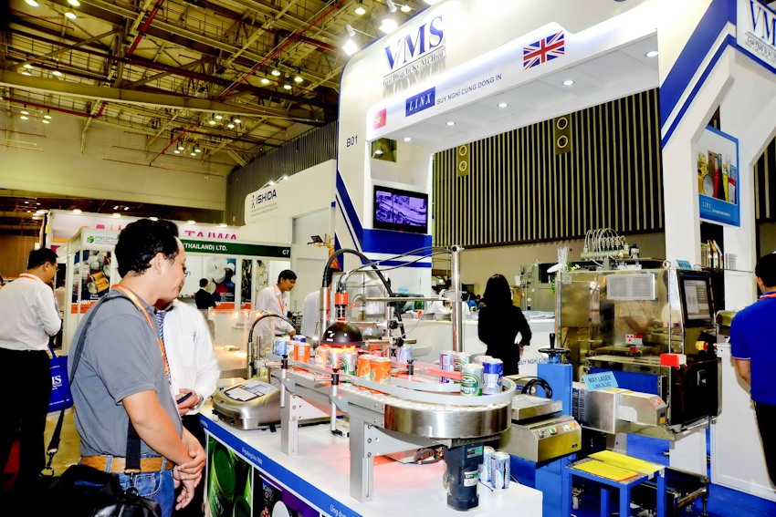 Processing packaging technologies expo in HCM City in March