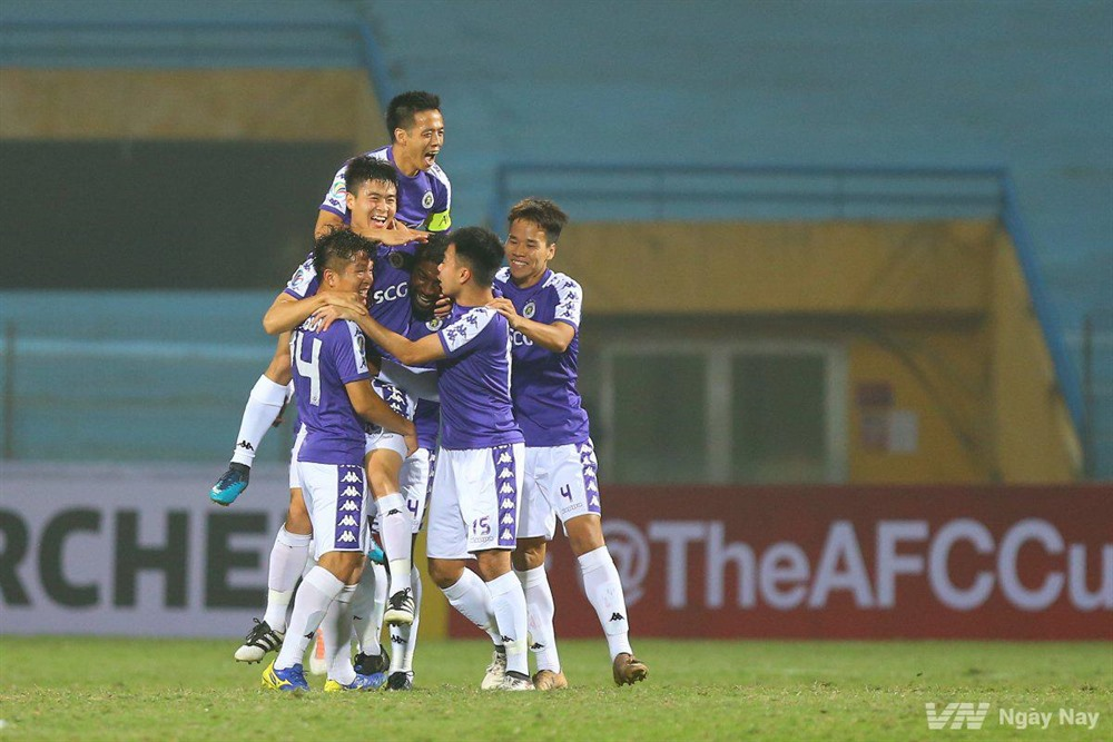 Hà Nội FC face Tampines Rovers in AFC Cup