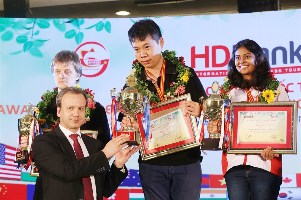 No 1 seed wins 9th HDBank International Chess Open Tournament 2019