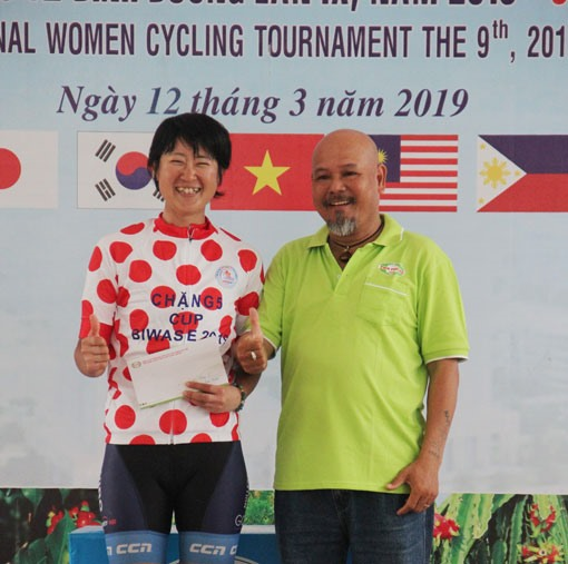 Jutatip Maneephan triumphs in sixth stage of Biwase Cup