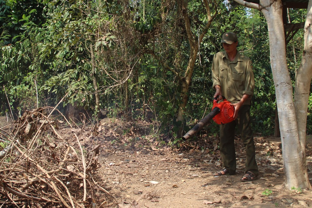 Đồng Nai raises forest fire warning to highest level