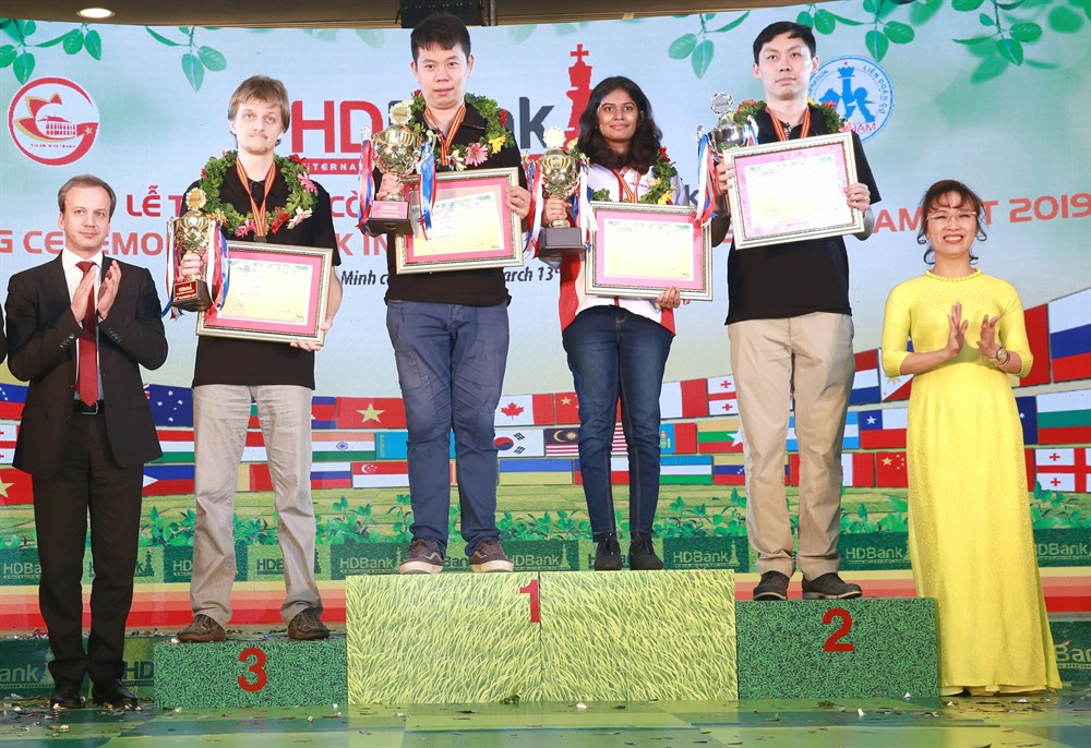 9th HDBank International Chess Open Tournament closes after exciting week of world-class competition