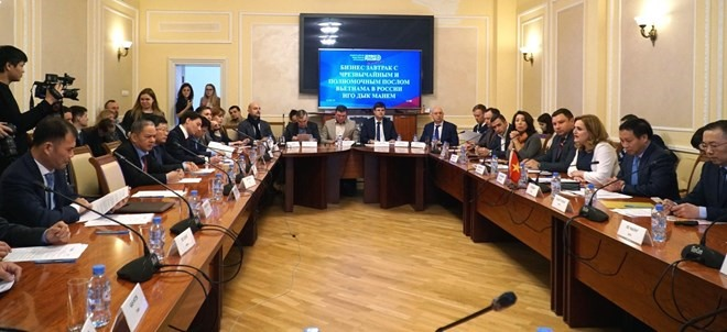 Moscow meeting connects Vietnamese Russian SMEs