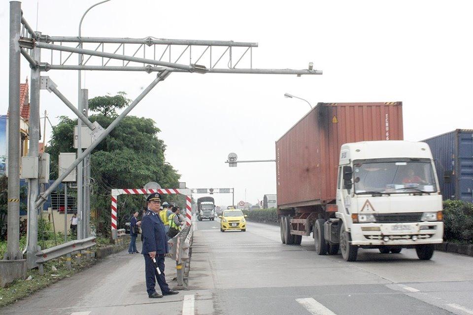 First weigh bridge installed near port city