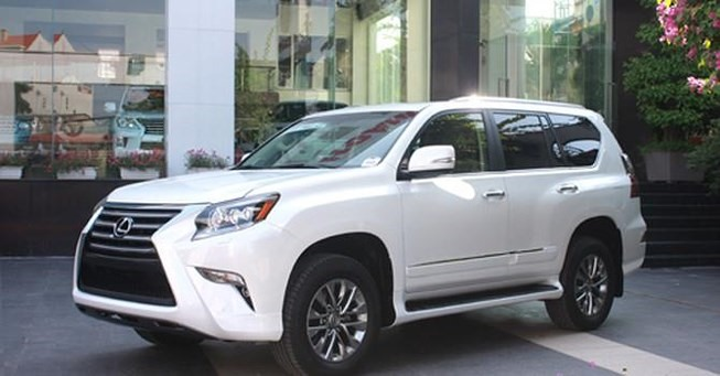 Lexus Việt Nam recalls GX460 cars to fix airbag faults