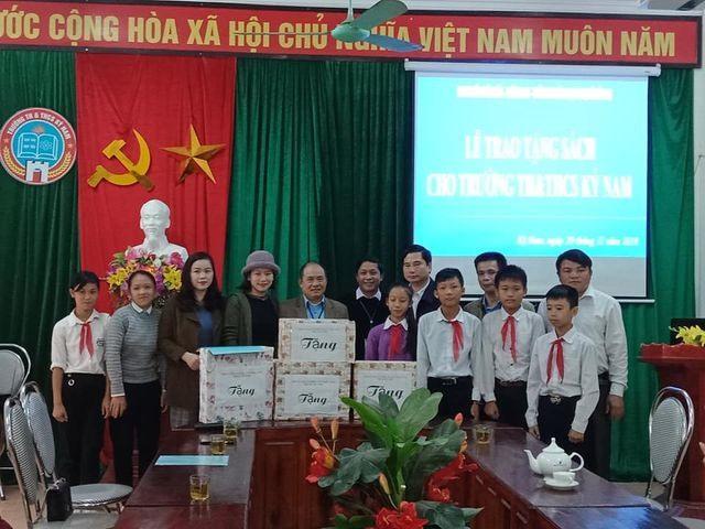 Librarian donates books to remote areas children