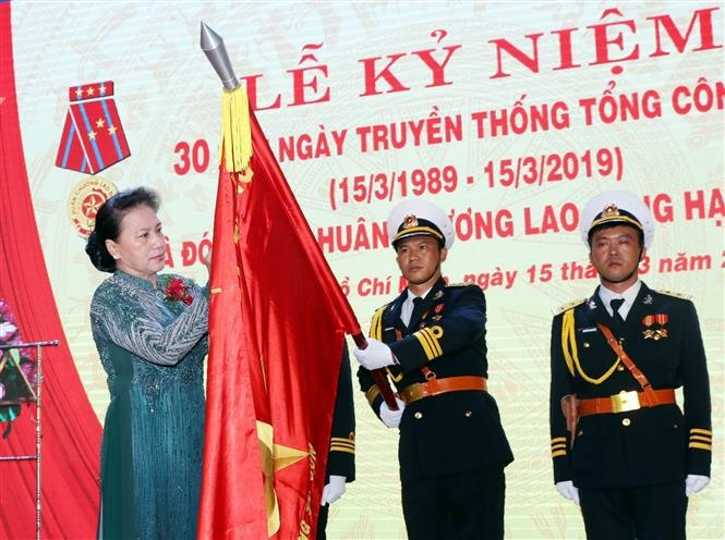 NA leader lauds model port operator on 30th anniversary