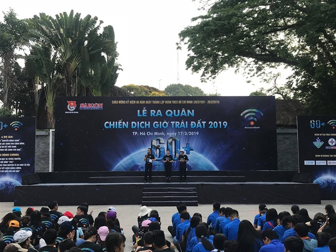 HCM City launches Earth Hour campaign