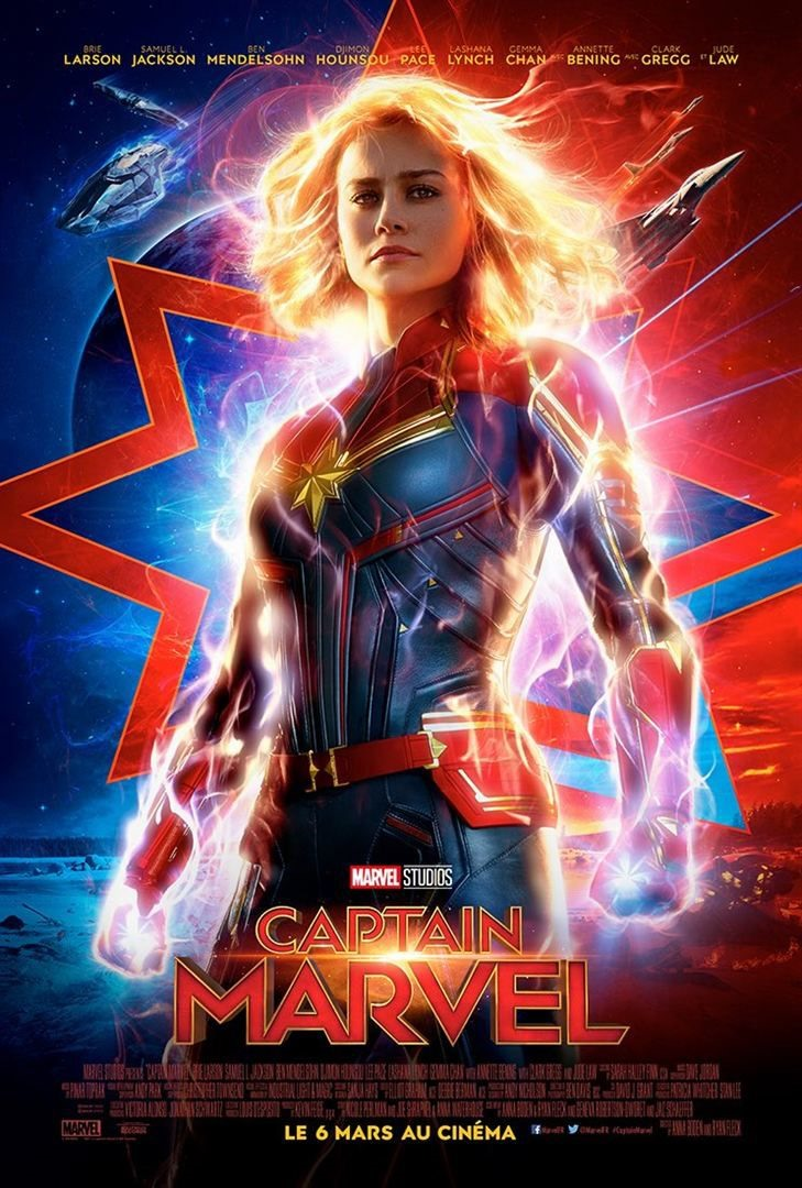 Captain Marvel clobbers the competition to stay atop box office
