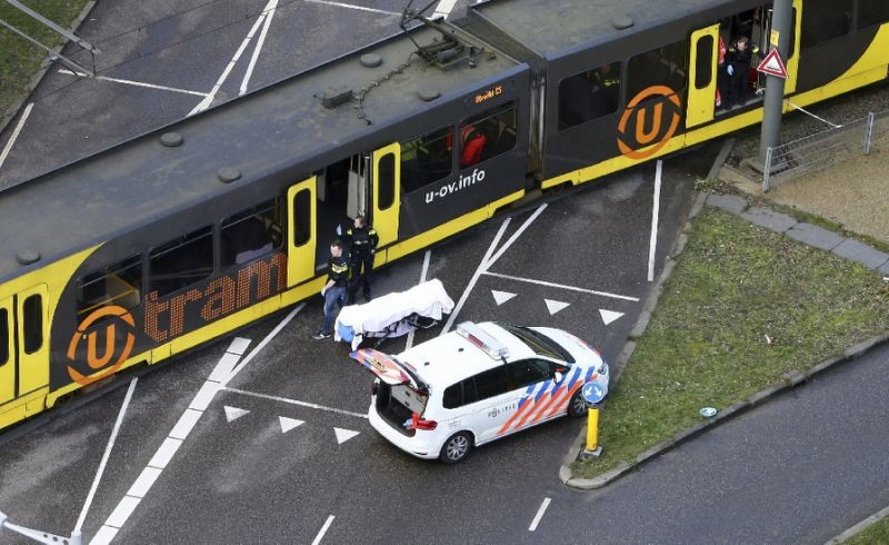 Dutch police arrest suspect after three shot dead on tram