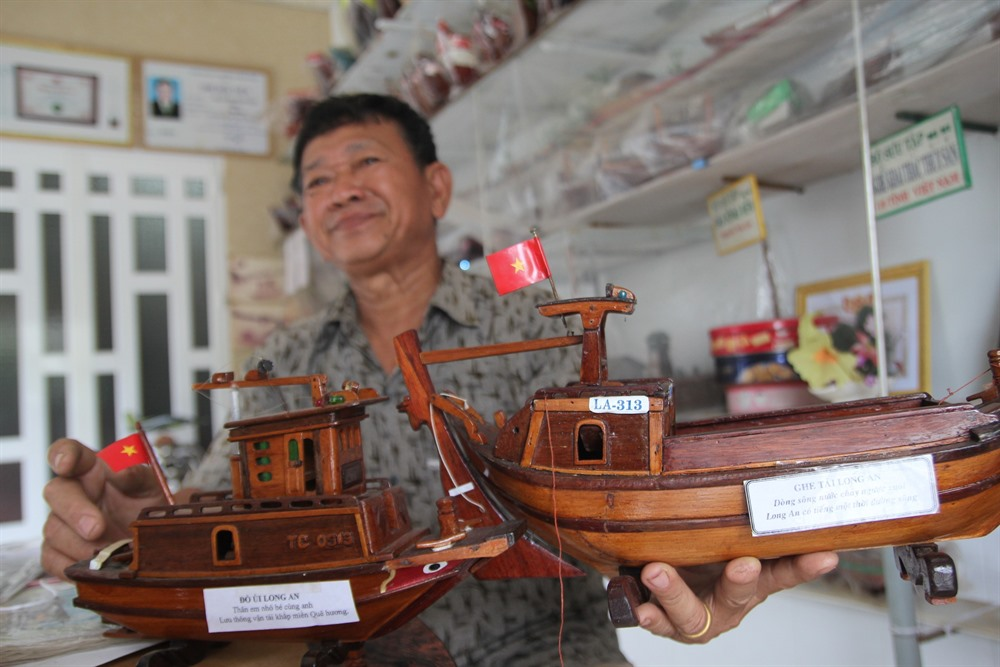 Former fisherman fashions fantastic flotilla