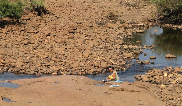 Water supply drops in Central Highlands as lakes dry up