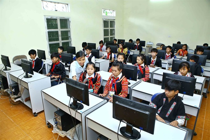Bridging the digital divide requires new forms of education training
