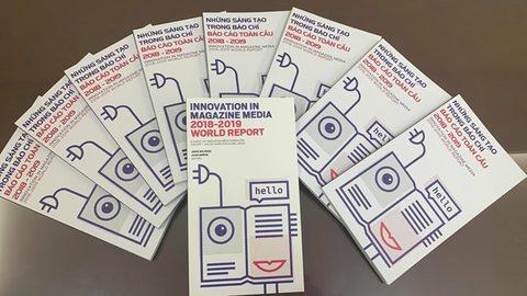 Vietnam News Agency releases Innovation in Media World Report in Vietnamese