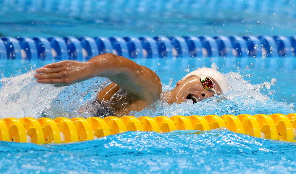 Swimmer Viên invested strongly for SEA Games 30