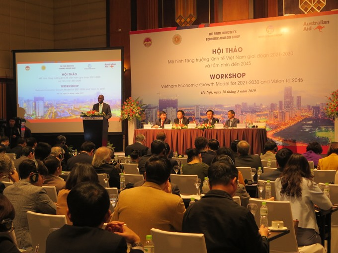 VN urged to shift to productivity innovation-based economy