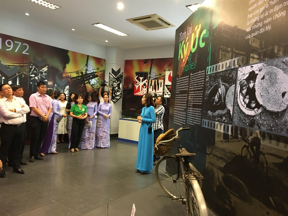 Exhibition on memories of war opens at the citys museum